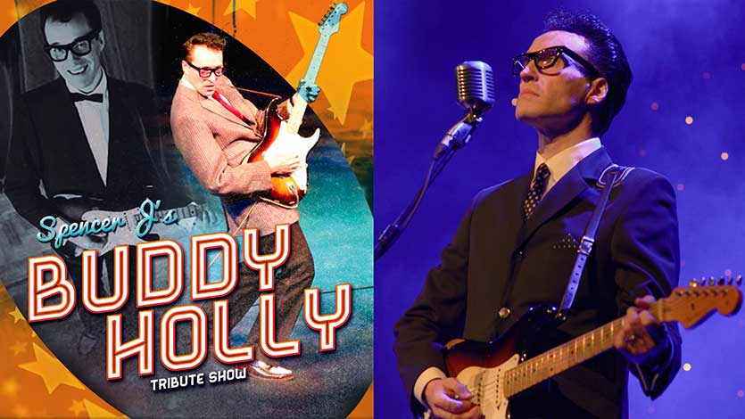 BUDDY HOLLY TRIBUTE – SPENCER J